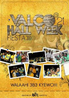 valco hall week poster